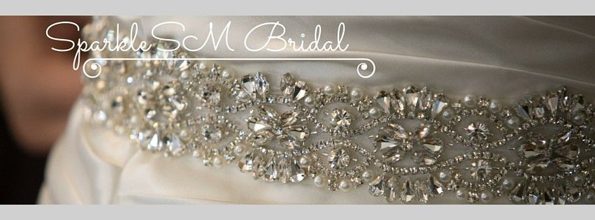 SparkleSM | Shop Couture Bridal Sashes & Wedding Belts
