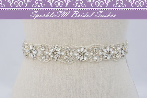 Crystal,Bridal,Sash,Rhinestone,Beaded,Wedding,18,Pearl,Sash,,SparkleSM,Sashes,,Tierney,Weddings,Accessories,bridal_sash,bridal_belt,wedding_sashes,wedding_belts,wedding_dress_sash,sparklesm,wedding_dress_belts,bridal_sashes,ivory_bridal_sash,beaded_bridal_sash,pearl_bridal_sash,pearl_bridal_belt,rhinestone_belt