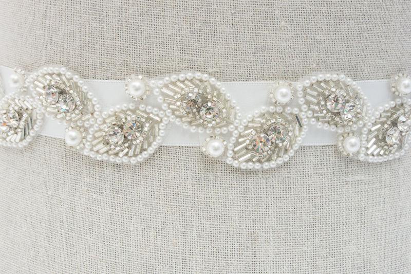 bridal sash bridal belt rhinestone bridal sash bridal dress sash wedding dress sashes. Black Bedroom Furniture Sets. Home Design Ideas