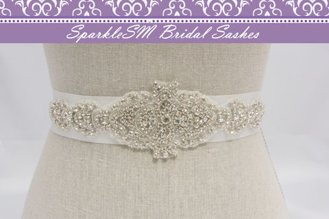 Rhinestone,Applique,,Bridal,Sash,,Belt,,Wedding,Dress,Beaded,SparkleSM,Bridal,,Sadie,Weddings,Accessories,bridal_sash,bridal_belt,bridal_dress_sash,beaded_bridal_belt,beaded_bridal_sash,rhinestone_sash,rhinestone_applique,bridal_applique,beaded_dress_sash,bridal_sash_belts,SparkleSM_Bridal,wedding_dress_sash,bridesmaids_sash