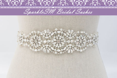 Rhinestone,Pearl,Sash,,Bridal,Belt,,Swarovski,Crystal,SparkleSM,Bridal,,Maguire,Weddings,Accessories,rhinestone_applique,beaded_bridal_sash,bridal_dress_sash,wedding_sash,wedding_belt,rhinestone_sash,rhinestone_belt,crystal_bridal_sash,crystal_bridal_belt,beaded_dress_sash,SparkleSM_Bridal,bridesmaids_sash,wedding_dress_sash
