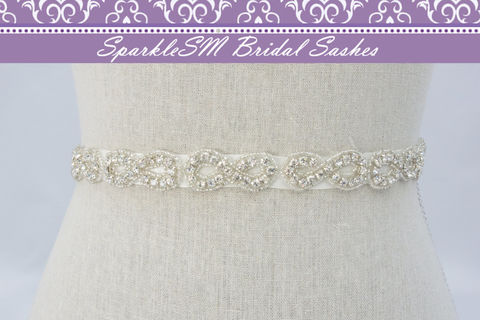 Rhinestone,Crystal,Belt,Sash,,Wedding,Sash,Belt,,Bridal,Accessories,,SparkleSM,Sashes,,Montana,Weddings,Accessories,thin_bridal_sash,bridal_sash,bridal_belt,wedding_sashes,wedding_belt,wedding_dress_sashes,ivory_bridal_sash,crystal_belt,wedding_gown_sash,beaded_bridal_belt,sparklesm,rhinestone_sash,bridal_dress_sash