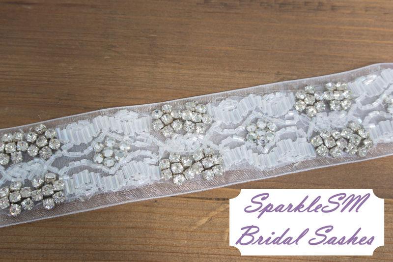 Emmaline Bridal Sash Sparklesm Bridal
