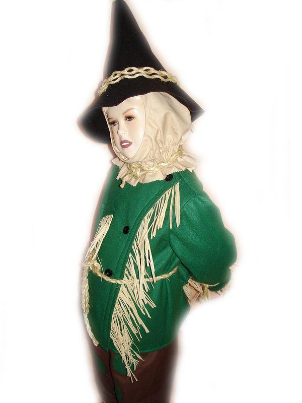 custom boutique scarecrow of wizard of oz child u0026 39 s size costume set