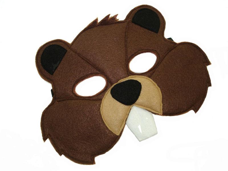 children u0026 39 s woodland animal beaver felt mask