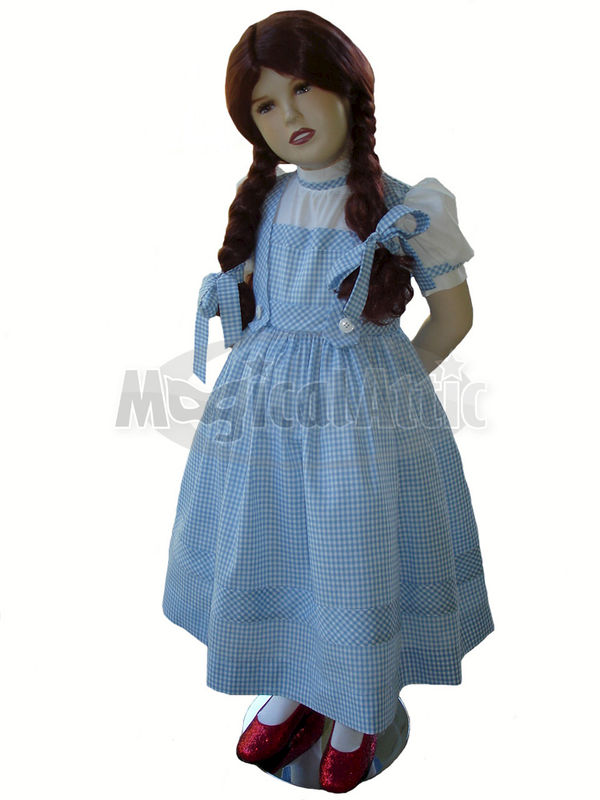Custom Boutique DOROTHY of Wizard of Oz Girl's Costume Dress - product images  of