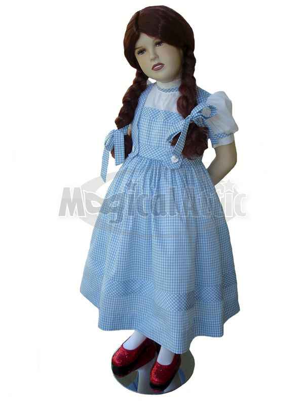 Custom boutique dorothy of wizard of oz girls costume dress custom boutique dorothy of wizard of oz girls costume dress magical attic thecheapjerseys Choice Image