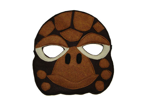Children's,Animal,TURTLE,Felt,Mask,Children, Clothing, Costume, dress up, pretend play, halloween costume, christmas gift, party favor, felt mask, kids mask, animal mask, birthday gift, toy, box turtle, box tortoise, magicalattic
