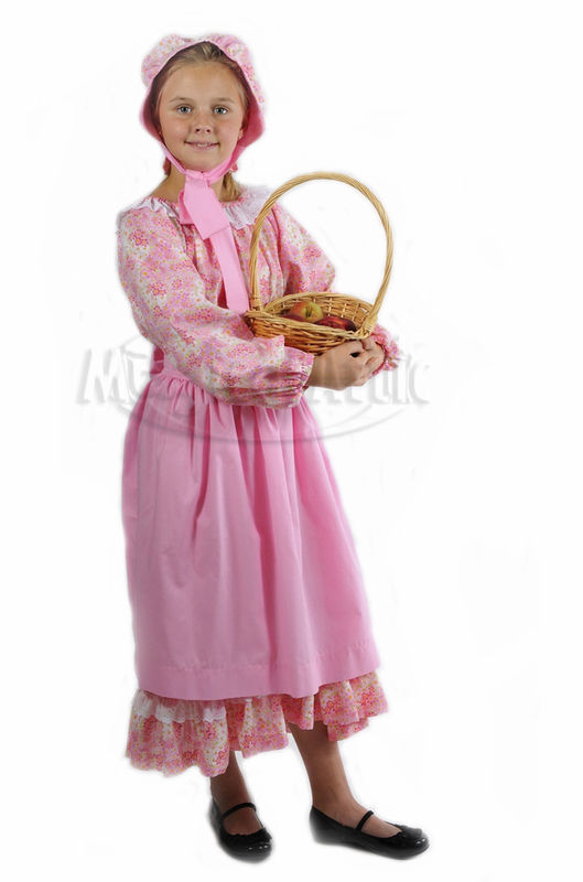 Custom Boutique American Inspired Pioneer Prairie Style S Dress Set Magical Attic