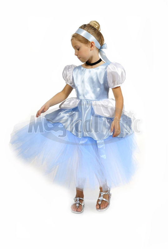 Custom Boutique Princess CINDERELLA Girl\'s Ball Gown Tutu and Corset ...