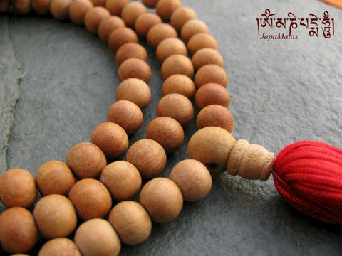 Sandalwood,Japa,Mala,108,beads,mala,purified,&,blessed,Everything_Else,Religious,Meditation,sandalwood,japa_mala_bead,108_beads,hindu,india,buddhist_mala,meditation,yoga,zen,prayer_beads,worry_beads,christmas_in_july,sandal wood beads,holy thread,mantras,pure intention