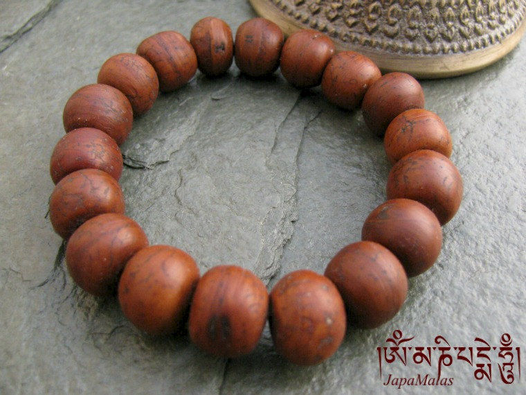 Bodhi seed Bracelet Mala purified & blessed mala - product images  of
