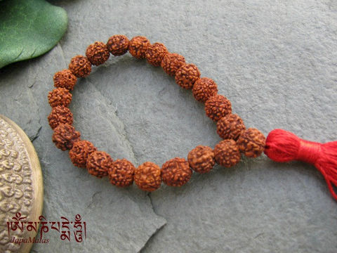 Rudraksha,Wrist,Mala,purified,&,blessed,mala,Jewelry,Bracelet,Beadwork,japa_mala_bead,108_beads,hindu,india,buddhist_mala,meditation,yoga,zen,prayer_beads,worry_beads,yoga_jewelry,christmas_in_july,holy thread,mantras,pure intention,rudraksha