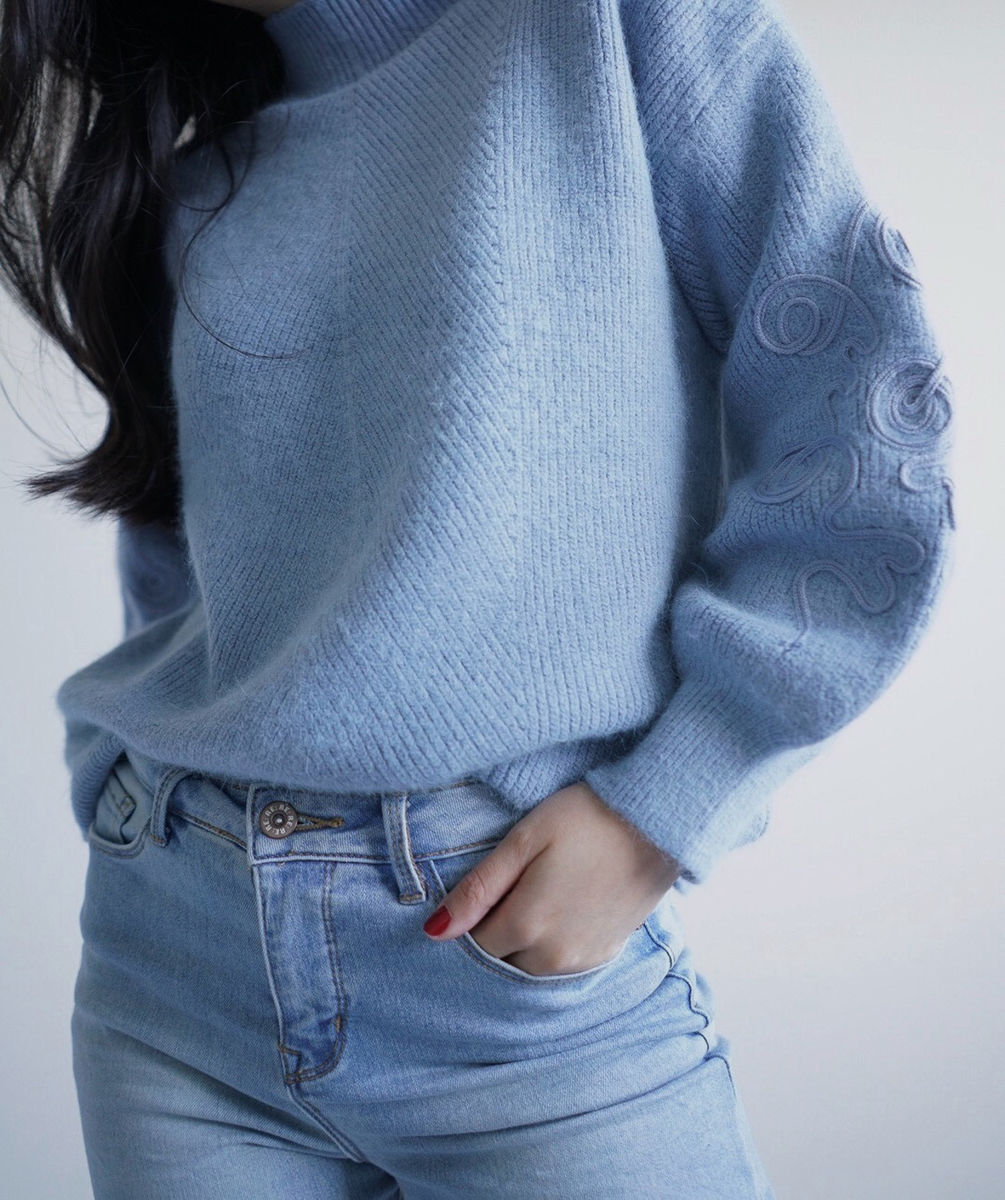 Light Blue Knit - product images  of
