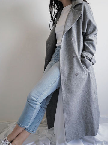 Grey,Coat,long coat, grey coat,