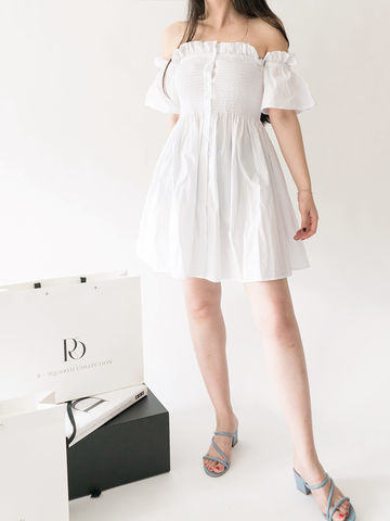 White,Off-shoulder,Dress,offshoulder dress, white dress, offshoulder