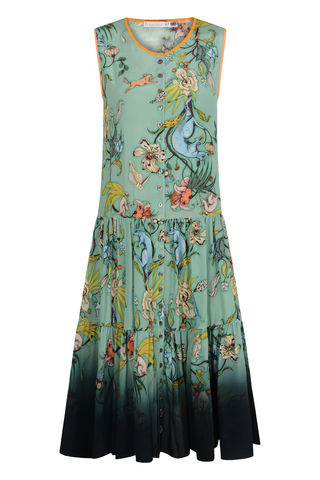 TOULOUSE,DRESS,IN,KANGAROO,PRINT,frill dress kangaroo