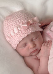 Newborn Girl Hat - product images 2 of 5
