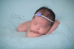 Newborn Headband, Baby Girl, Newborn Photo Prop - product images 3 of 5