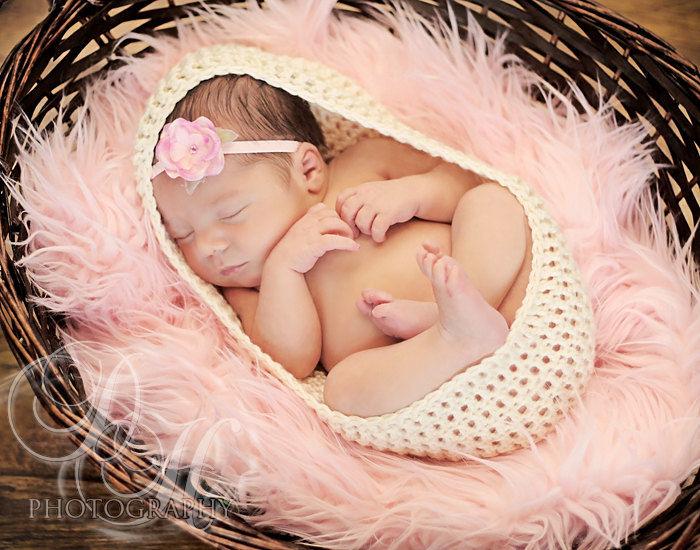 Crochet cocoon newborn photo prop baby cocoon photography props newborn cocoon
