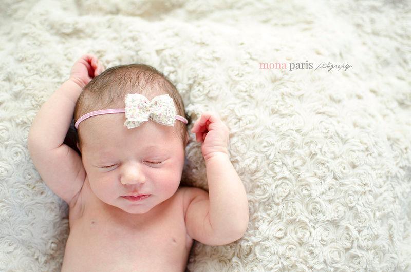 Baby Girl Headband Bow Headband Newborn Headband Newborn Photo