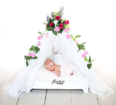 Newborn Lace Canopy - product images 1 of 7