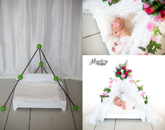 Newborn Lace Canopy - product images 2 of 7