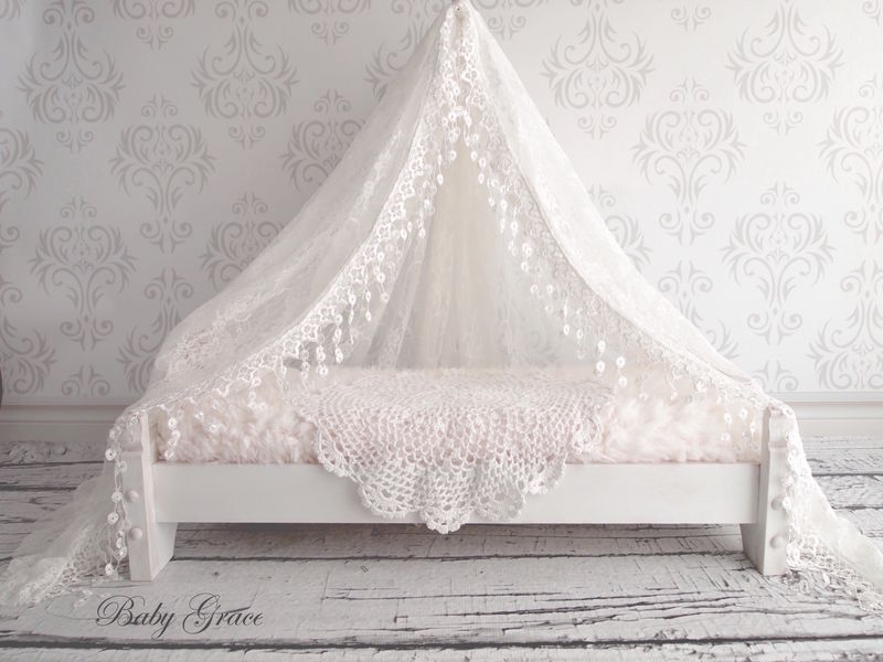 Newborn Lace Canopy - product image