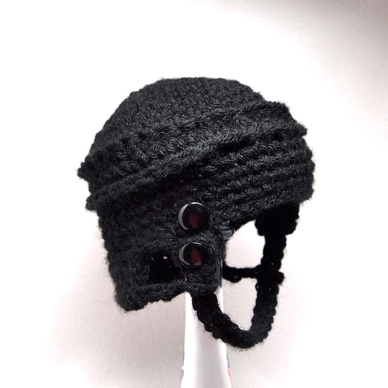 Free Crochet Pattern For Baby Hockey Helmet : Hockey Baby Hat, Newborn Crochet - Baby Grace