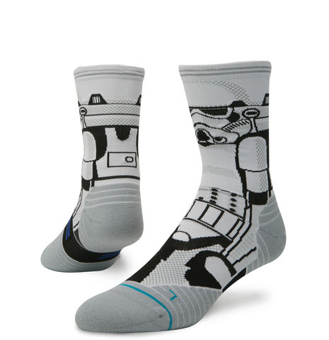 Stance,Star,Wars,Men's,Storm,Trooper,Run,Socks,Stance fusion run socks Star Wars storm Trooper, Funky Running Socks