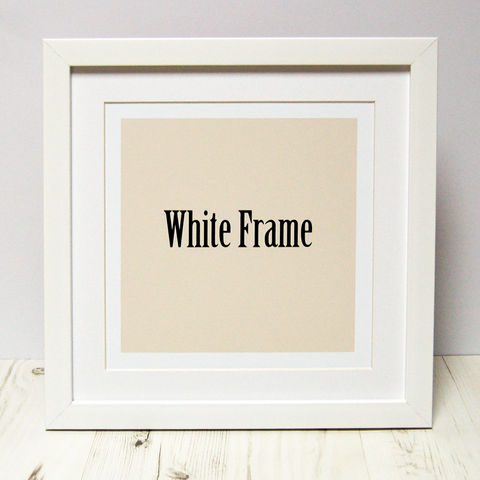 Frames,To,Fit,Spotty,N,Stripy,PRINTS,white black oak square photo print frame