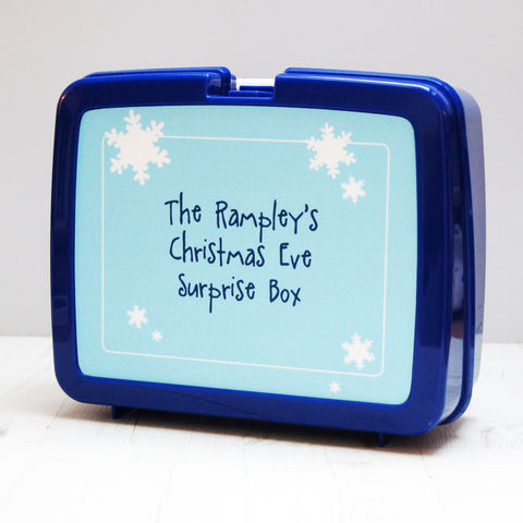 Christmas,Eve,Surprise,Box:,Personalised,Christmas Eve Surprise Box Gift