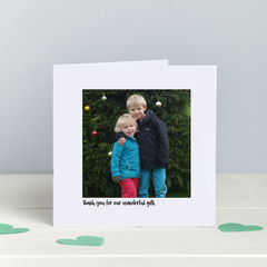 Thank,You,Photo,cards,-,Any,Occasion,Personalised Thank You Photo card