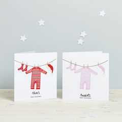 Babys,1st,Christmas,Card,-,Baby,First,Paper_Goods, Christmas, first christmas, 1st christmas card, Baby's Christmas, Christmas Card, Personalised, Child, Pretty Midlands, Baby Christmas, Baby 1st Christmas, 1st_Xmas, Christmas_First, Spotty_N_Stripy