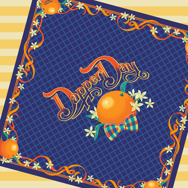 DAPPER DAY Orange Grove Scarf - product images  of