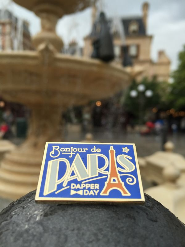 DAPPER DAY Postcard Pin, Paris - product images  of