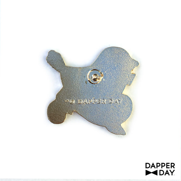 DAPPER DAY Black Early Bird Pin - product images  of