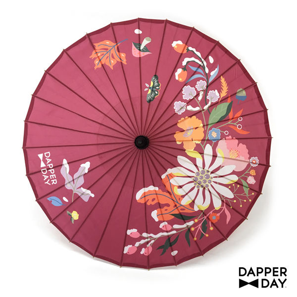 First Frost Parasol (Plum) - product images  of