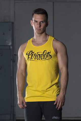 Mens's,sleeveless,PIRADOS,SCRIPT,Mens's sleeveless PIRADOS SCRIPT
