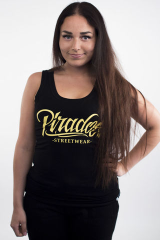 Women's,tanktop,Pirados,Streetwear,-,Black, tanktop, summer, ladies, pirados, streetwear, top