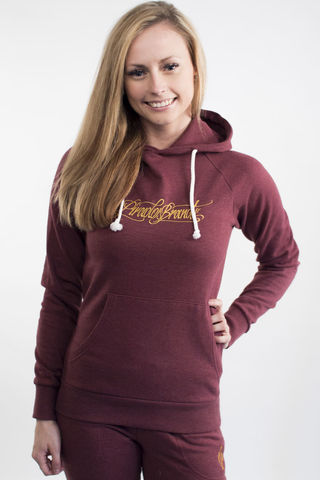 Ladies,new,school,hoodie,PIRADOS,BRAND,-,Burgundy,Ladies new school hoodie PIRADOS BRAND