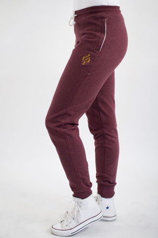 Ladies,new,school,long,pants,PRDS,X,-,Burgundy,New school, Unisex, Long pants, Cotton, Pirados