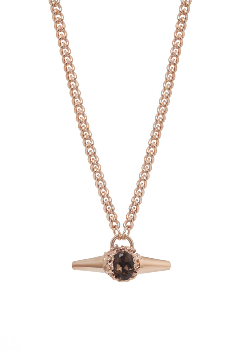 Rose Meteor Shower II Luxe Necklace - product images  of