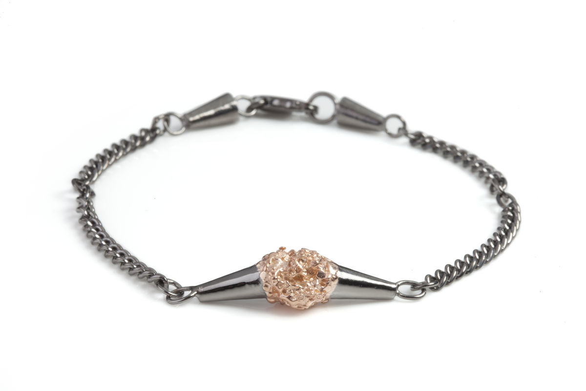 Charcoal Meteor Shower Bracelet - product images  of