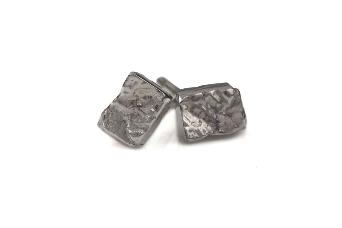 Ros Millar: Rectangle Stud Earrings | Jewelry,Jewelry > Rings,Jewelry > Earrings -  Hiphunters Shop
