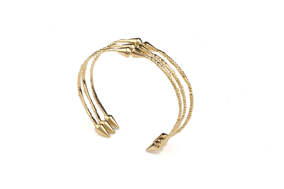 Ros Millar: Silver Spike Cuff | Jewelry,Jewelry > Rings -  Hiphunters Shop