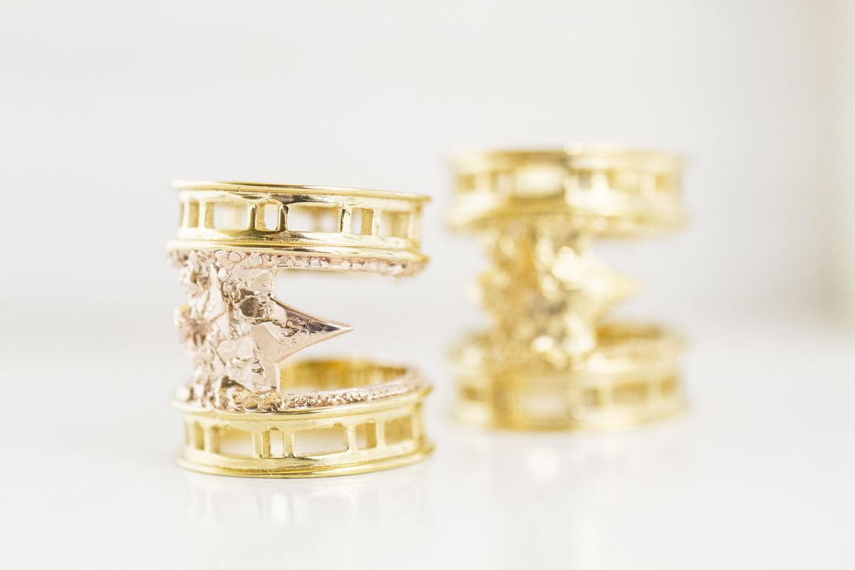 Yellow Brickmoon Ring - product images  of
