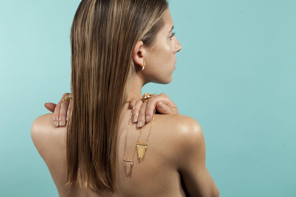 Ros Millar: Gold Skyflight Earrings   Jewelry,Jewelry > Rings,Jewelry > Earrings -  Hiphunters Shop