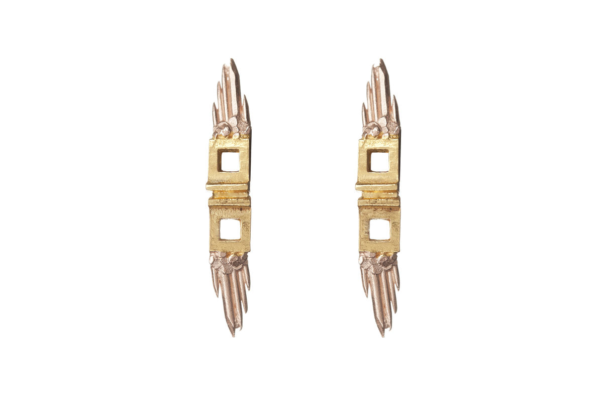 Ros Millar: Sunrise Skyflight Earrings | Jewelry,Jewelry > Rings,Jewelry > Earrings -  Hiphunters Shop