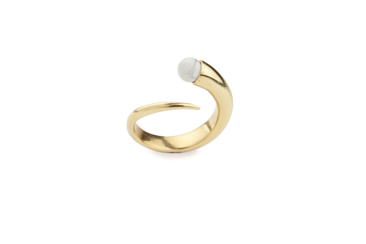 Ros Millar: Yellow Orb Ring | Jewelry,Jewelry > Rings -  Hiphunters Shop